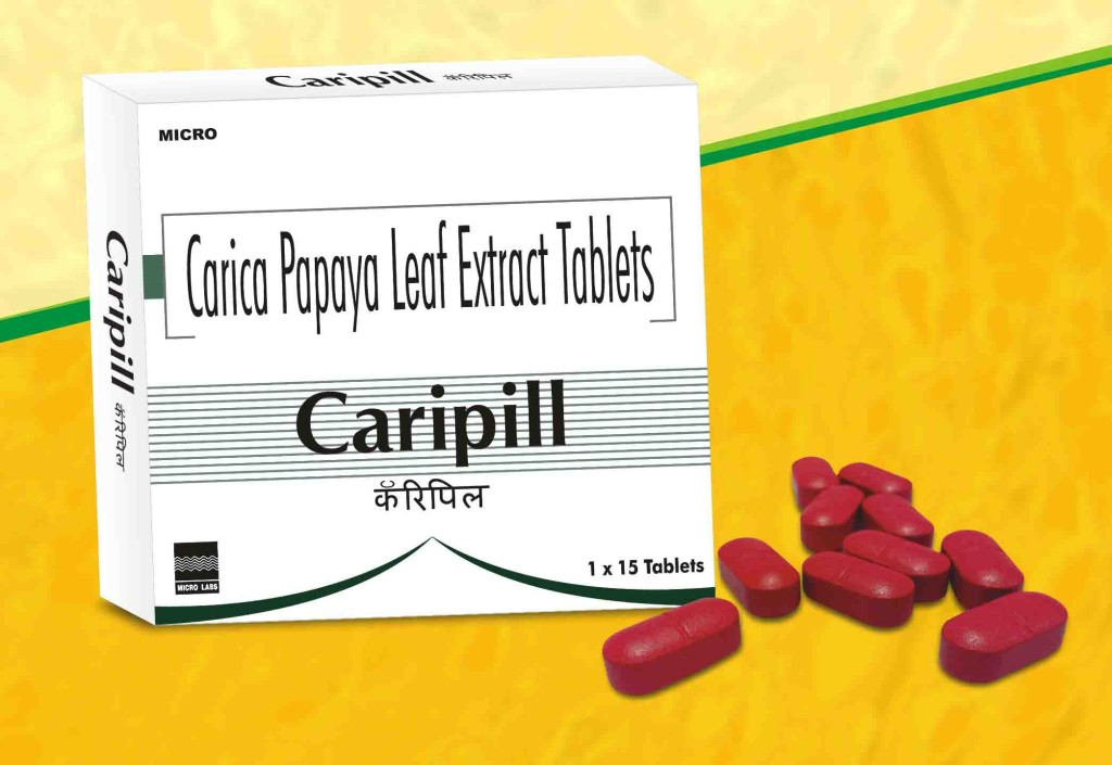 Caripill Tablet Pack shot